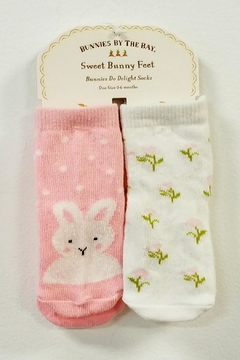 Bunnies by the Bay Baby Girl Socks - Alternate List Image