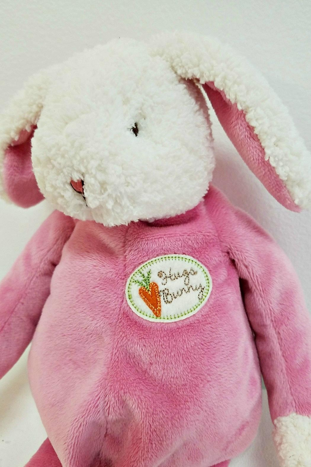 Bunnies by the Bay Cherry-Pink Hugs-Bunny - Front Full Image
