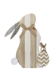 Ganz Bunny Figurine W/easel - Front cropped