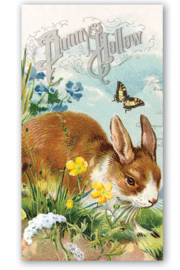 Michel Design Works Bunny Hollow Hostess Napkins - Front cropped
