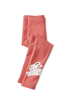 Tea Collection Bunny Rabbit Cozy Leggings - Alternate List Image
