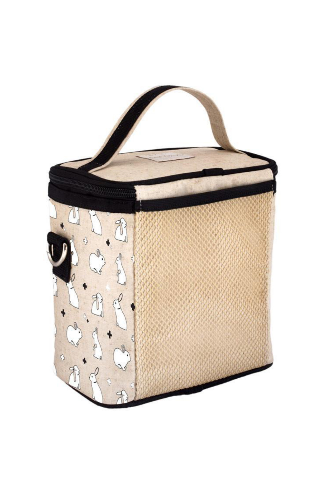 So Young Bunny Tile Small Cooler Bag - Front Full Image