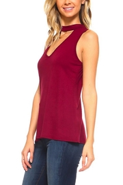 Urban X Burgundy Choker Tank - Product Mini Image