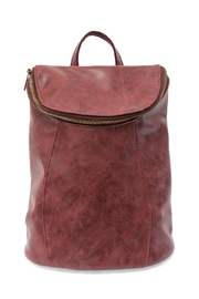 Joy Susan Burgundy Distressed Backpack - Product Mini Image