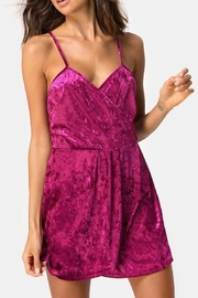 Motel Rocks Burgundy Furia Dress - Product Mini Image
