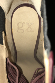 GX Burgundy or Wine Color Shoe/Bootie - Back cropped
