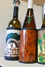 Goldcrafter's Corner Burl-Wood Insulated-Wine-Wrap - Product Mini Image