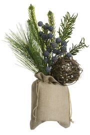 All State Floral Burlap And Berries - Product Mini Image