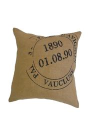 Bonavista Bovi Home Burlap Postage Cushion - Product Mini Image