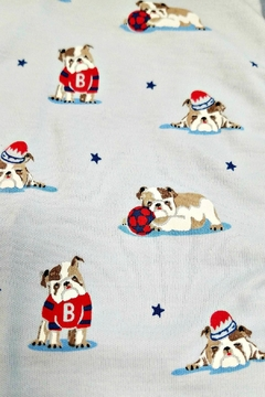 Kissy Kissy Burly Bulldog Pajamas - Alternate List Image