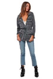 Astars Burnout French-Terry Jacket - Front cropped