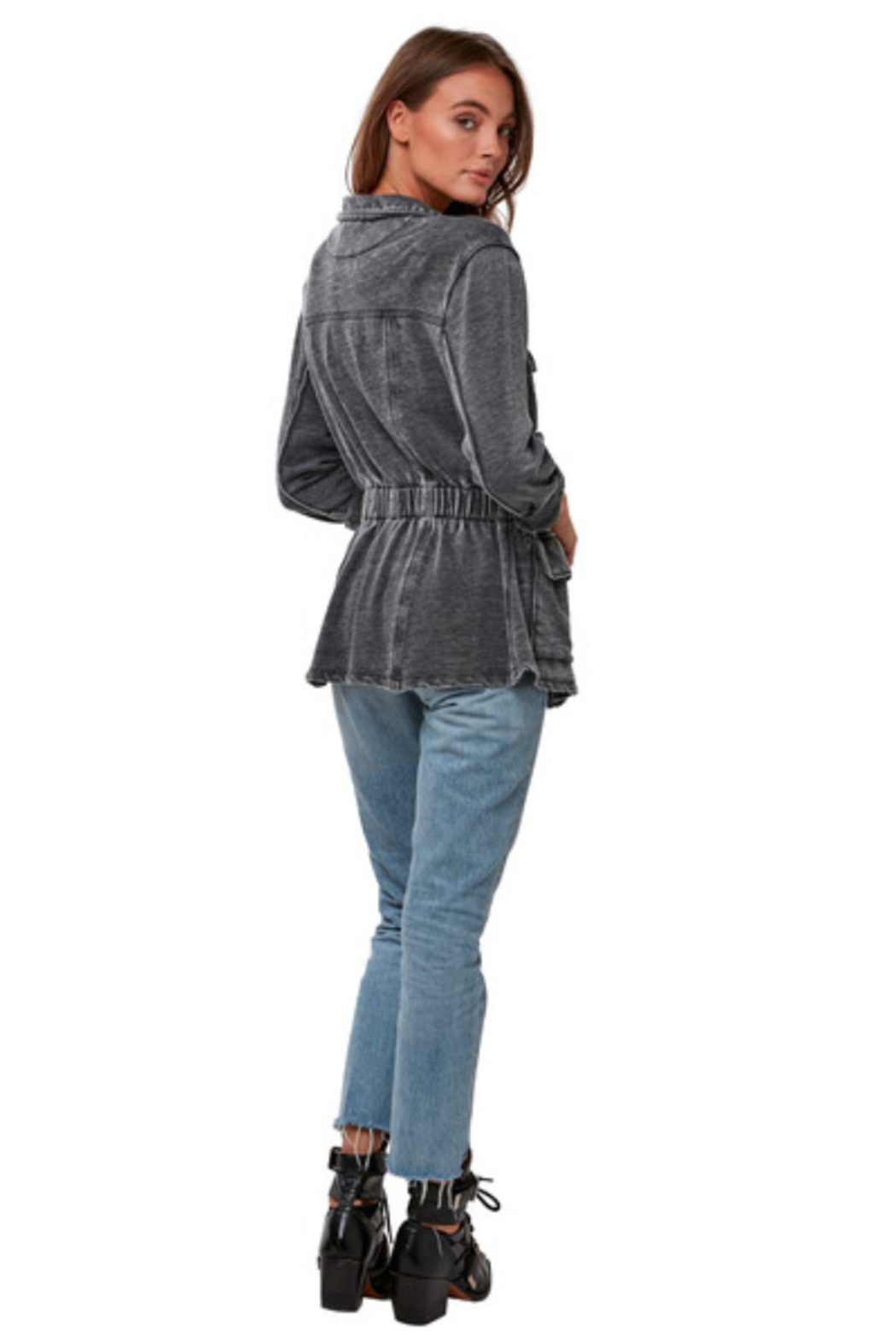 Astars Burnout French-Terry Jacket - Front Full Image