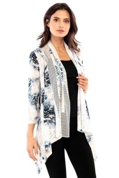 Adore Burnout Mesh Cardigan - Product List Image