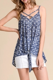 Hopely Burnout Star-Print Tank - Front cropped