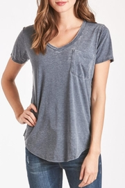 Another Love Burnout Vneck Tee - Product Mini Image