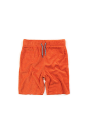 Appaman Burnt Orange Camp Shorts - Front cropped