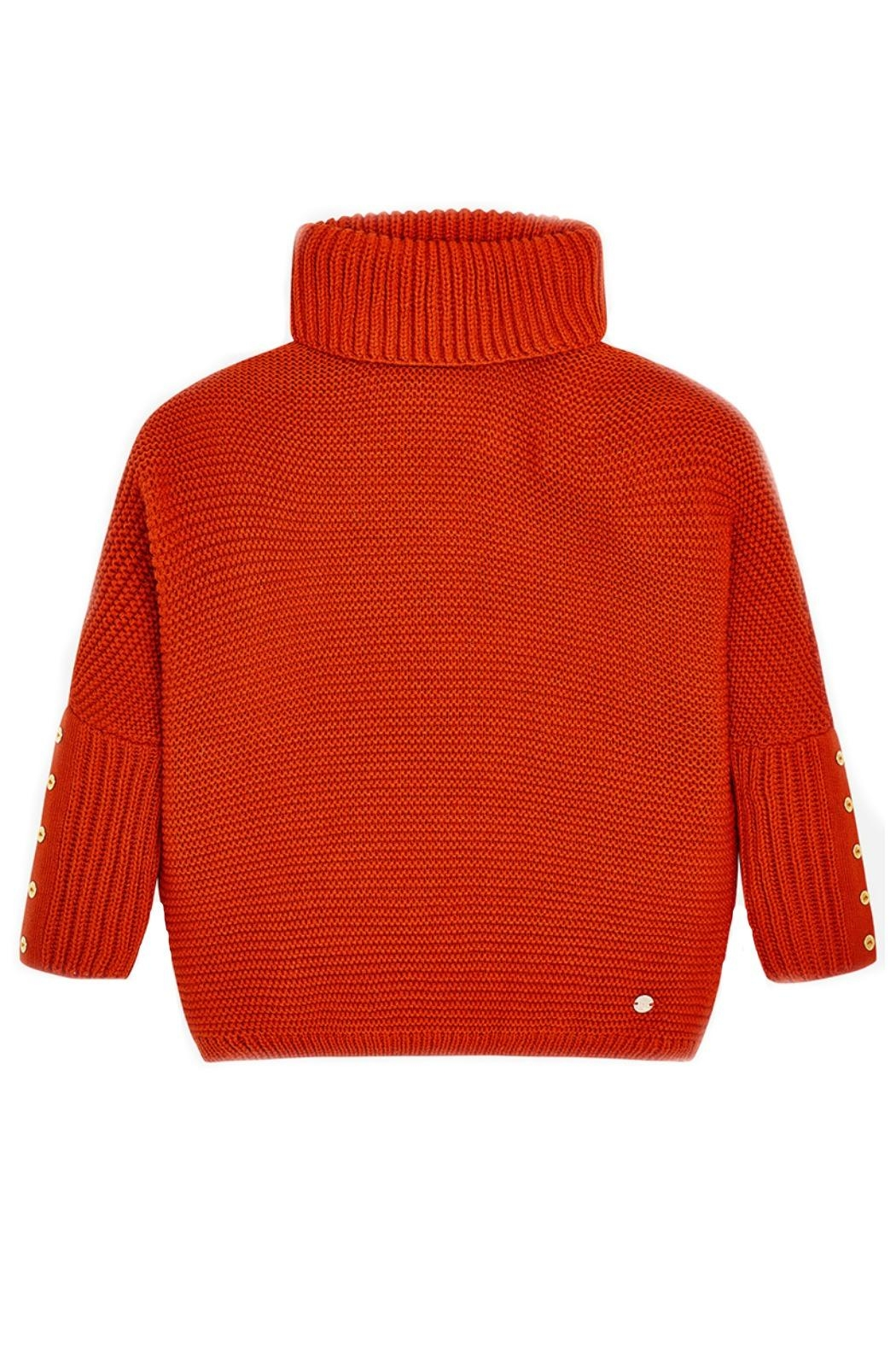 Mayoral Burnt-Orange Oversized Sweater - Main Image