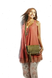 Coco + Carmen Burnt Orange Tank - Product Mini Image