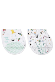 Aden + Anais Burpy Bib - Front cropped