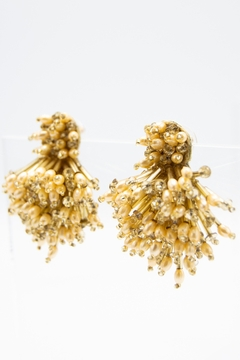 Mignonne Gavigan Burst Glass Beaded Drop Earrings - Alternate List Image