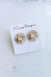 Kinsey Designs Burst Spark Earrings - Product Mini Image