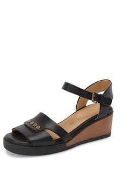 Shoptiques Product: Leather Back Strap Sandal
