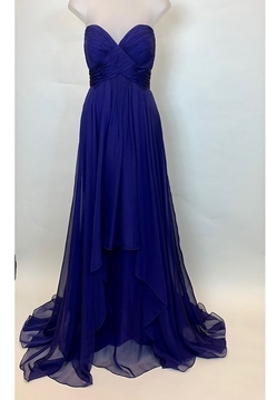 Mac Duggal BUSTIER DRAPED GOWN - Product List Image