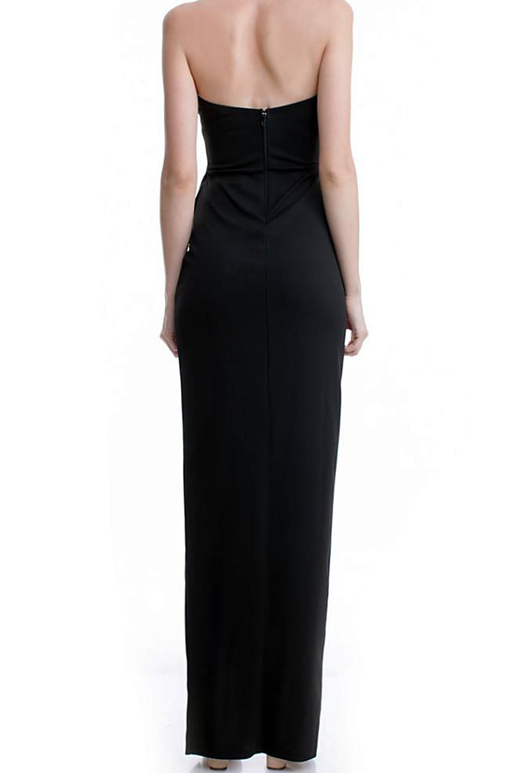 Bee Daring Couture Bustier Maxi Dress - Front Full Image