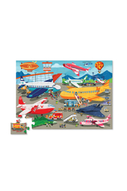 Crocodile Creek Busy Airport 36 Piece Puzzle - Front full body