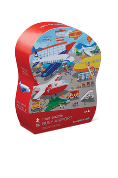 Crocodile Creek Busy Airport 36 Piece Puzzle - Product List Image