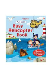 Usborne Busy Helicopter Book - Front cropped