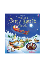 Usborne Busy Santa Book - Front cropped