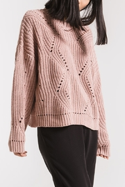 rag poets Butler Knit Sweater - Product Mini Image