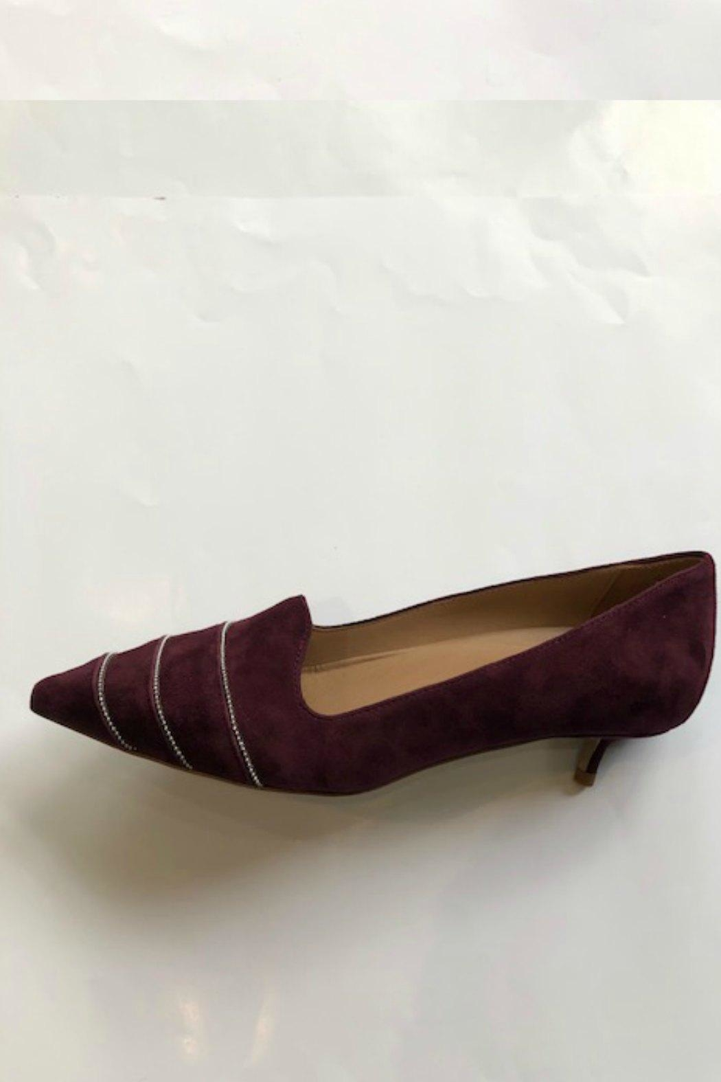 Butter Bayley Suede Kitten-Heel - Front Cropped Image