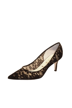Butter Black Lace Pump - Product List Image