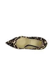 Butter Champagne Leopard Pump - Side cropped