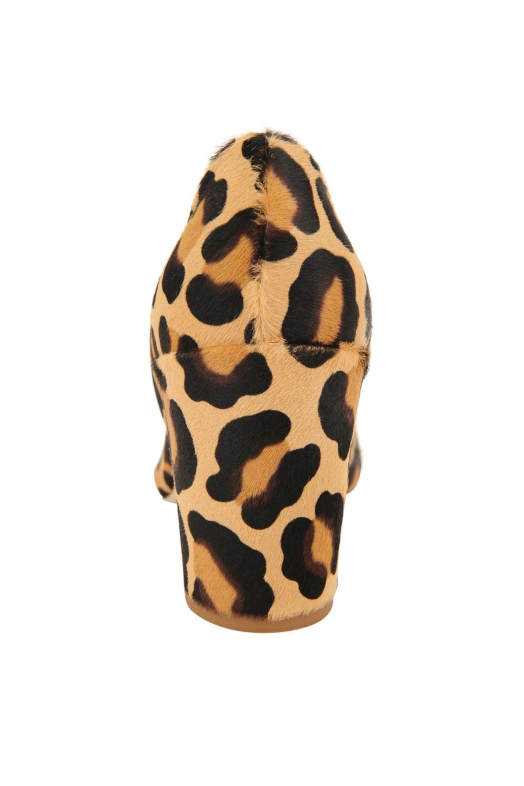 Butter Kay Cheetah Heeled Pump - Side Cropped Image