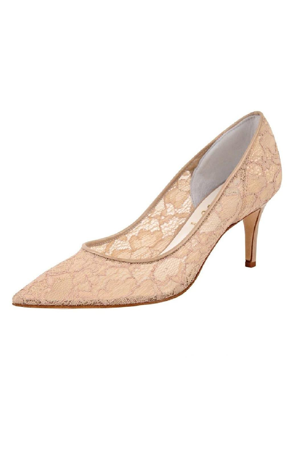 Butter Nude Lace Pump - Main Image