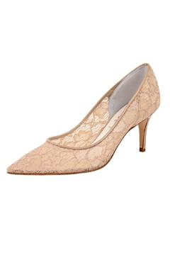 Butter Nude Lace Pump - Alternate List Image
