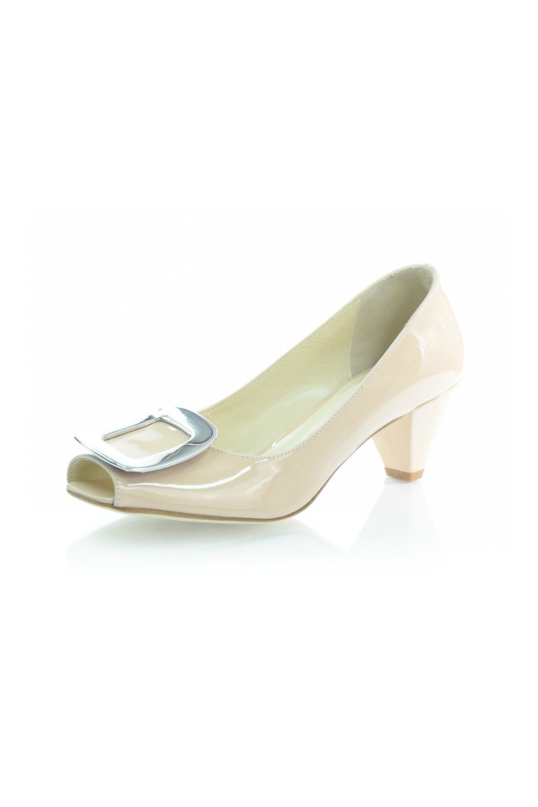 Butter Square Buckle Pump - Main Image