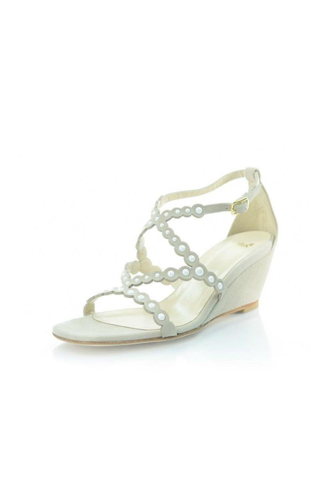 Butter Suede Pearl Wedge - Main Image