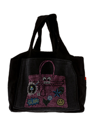 Butter Super Soft Black Canvas Tote - Product Mini Image