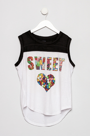 Butter Super Soft Children's Graphic Sleeveless Tee - Product Mini Image