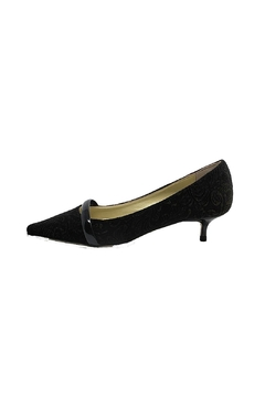 Shoptiques Product: Velvet Kitten Heel