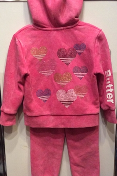 Shoptiques Product: 2pc. Heart Sweatsuit