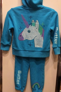 Shoptiques Product: 2pc Unicorn Sweatsuit