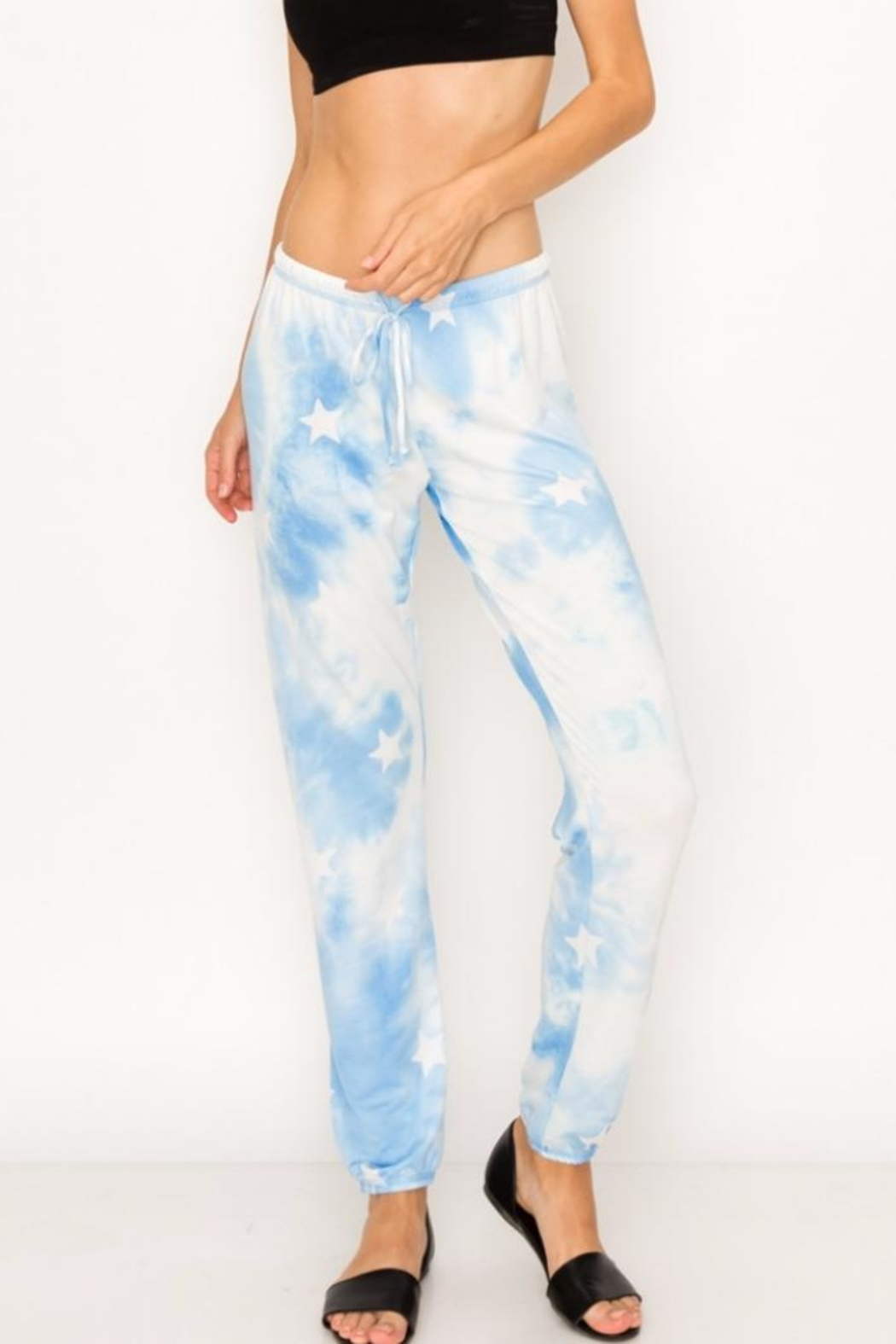 Butter Super Soft Tie Dye Star Pant - Main Image