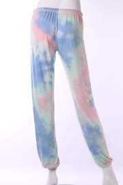 Butter Super Soft Tie Dye Sweatpant - Front full body