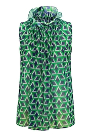 Traffic People Buttercup Geometric Blouse - Front cropped