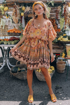 Spell & the Gypsy Collective Buttercup Mini Dress - Product List Image